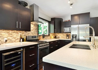 Kitchen renovation Langley